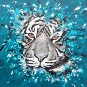 Turquoise tigré